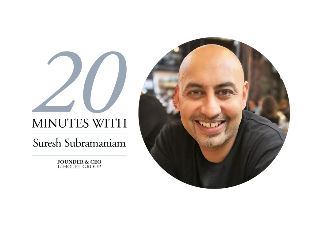 Suresh Subramaniam 20 Minutes With Banner