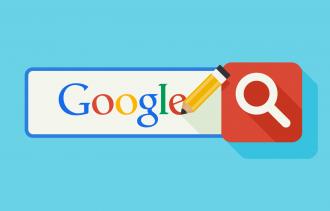 Google search illustration