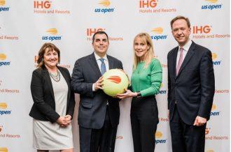 IHG executives meet with US Open team.