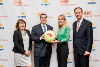 IHG executives meet with US Open team.