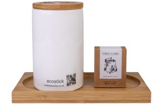 Forest & Bird's new ecostick packaging.
