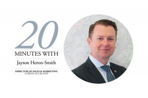 20 MINUTES WITH JAYSON HERON-SMITH – CORDIS AUCKLAND