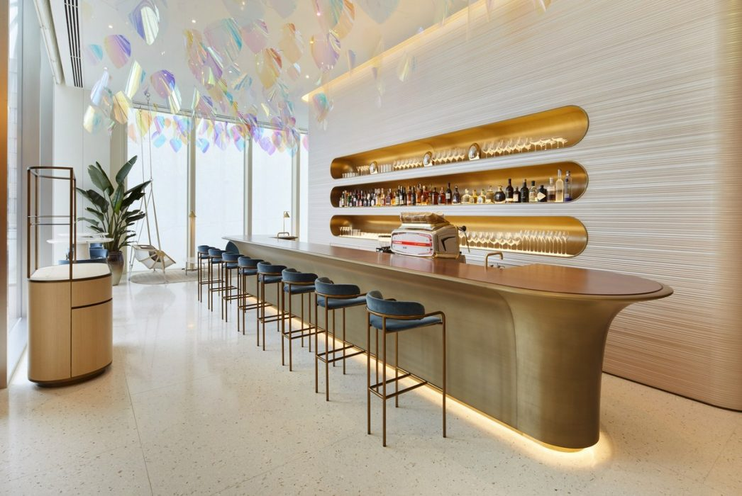 INSIDE LOUIS VUITTON'S FIRST CAFE AND RESTAURANT