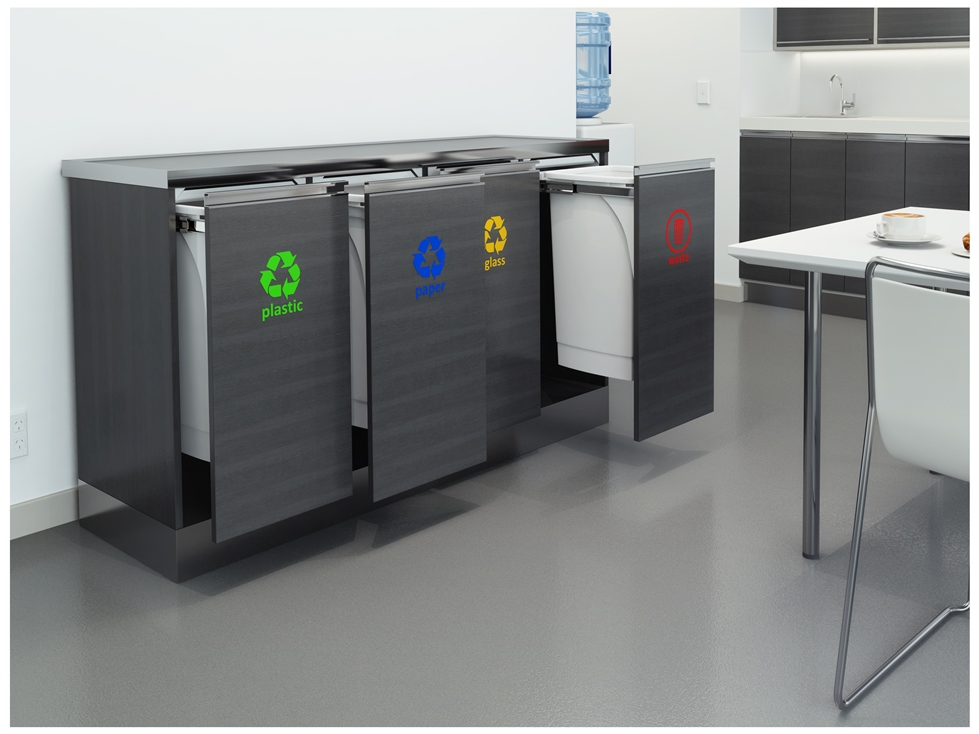 INNOVATIVE RECYCLING STATION FOR COMMERCIAL ENVIRONMENTS ...