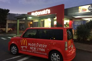 MCDONALD'S CONFIRM MCDELIVERY SERVICE