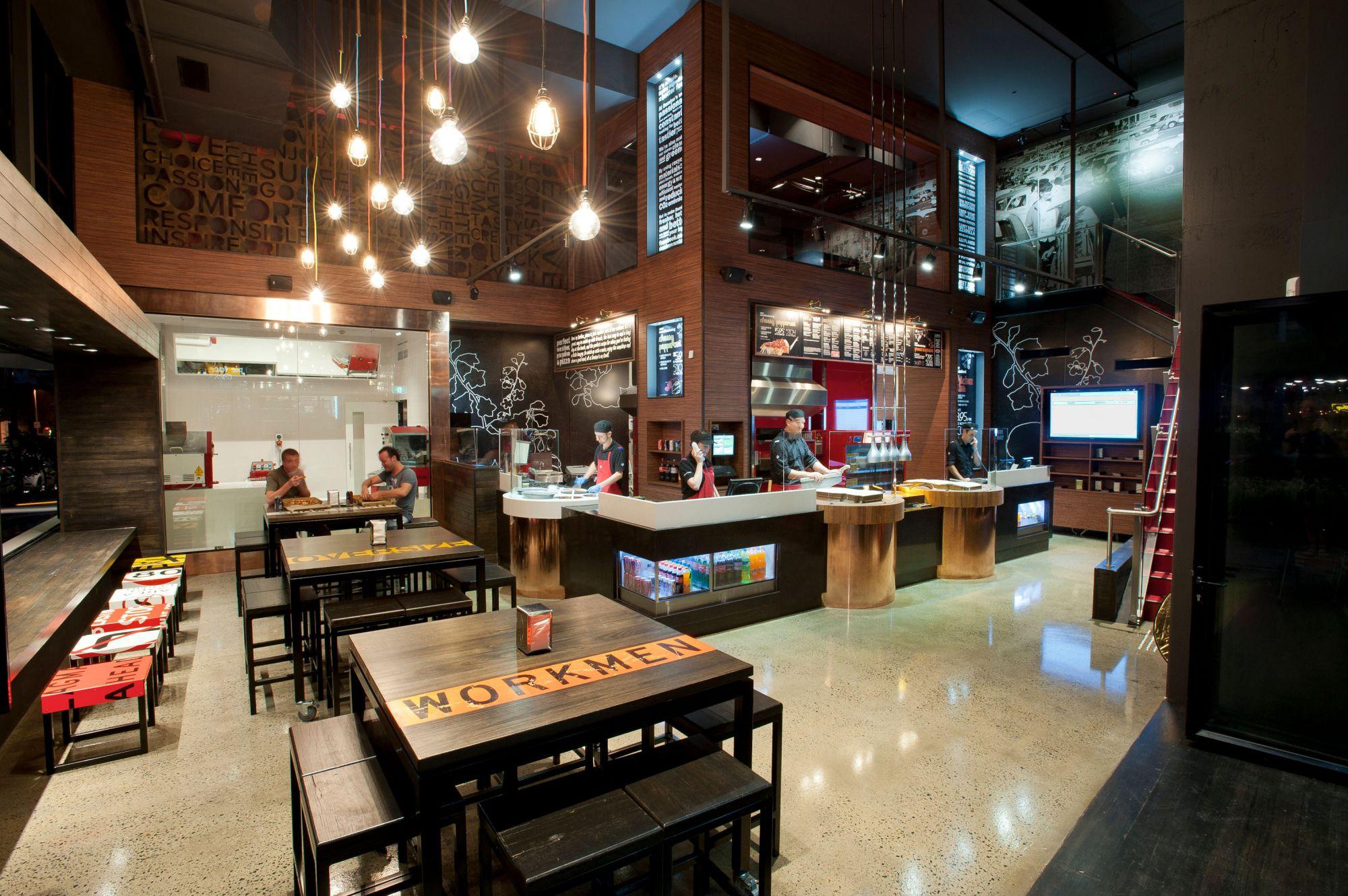 Dominos Planning Rapid Expansion Restaurant Amp Caf 233
