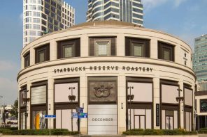 STARBUCKS RESERVE ROASTERY OPENS IN CHINA