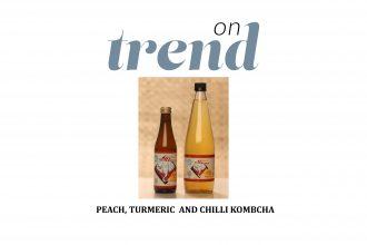 Banjo Brews Peach, Turmeric and Chilli kombucha