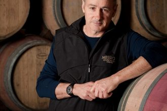 Mission Estate winemaker Paul Mooney