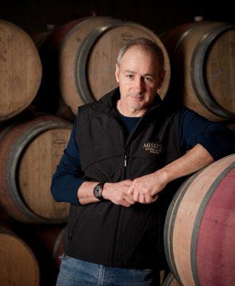 Mission Estate winemaker Paul Mooney