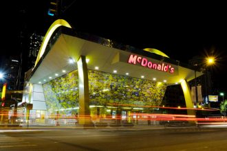 A McDonald's restaurant in Seattle, USA