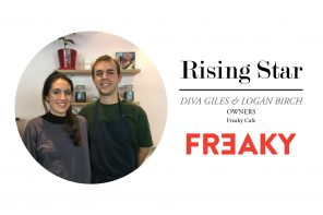 RISING STAR // DIVA GILES AND LOGAN BIRCH – FREAKY