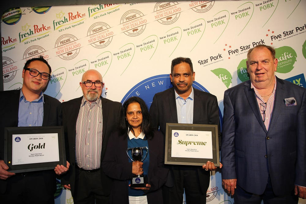 Sam's Bakery, the winners of the supreme award at the Pork, Bacon and Ham Awards