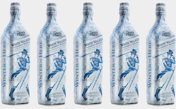 johnnie walker's white walker label whisky