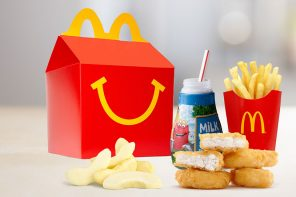 McDonald's pushes for healthier Happy Meals