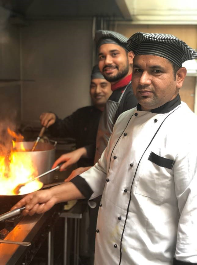 Chefs - Bijendra Rana, Rajan Sharma, Manjit Singh
