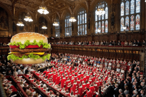 """IS A VEGGIE BURGER REALLY A BURGER?"" ASKS HOUSE OF LORDS"