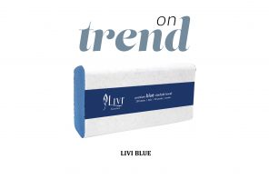 Livi Essentials Premium Blue Hand Towels
