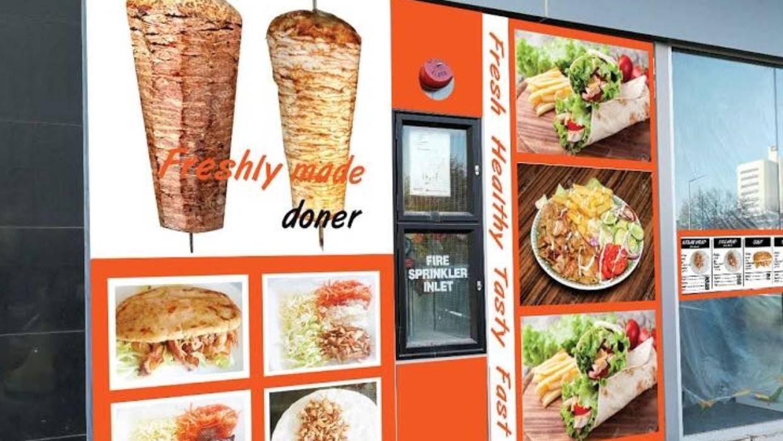 Best Turkish Food's outside menu