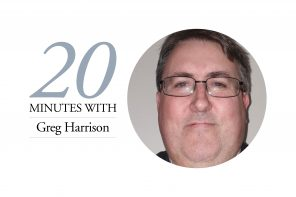 20 MINUTES WITH – GREG HARRISON, EXTRAORDER