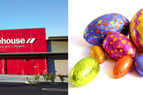 WAREHOUSE DONATES EASTER EGGS