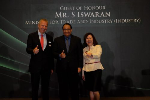 Singapore Minister for Trade and Industry, Mr. S Iswaran