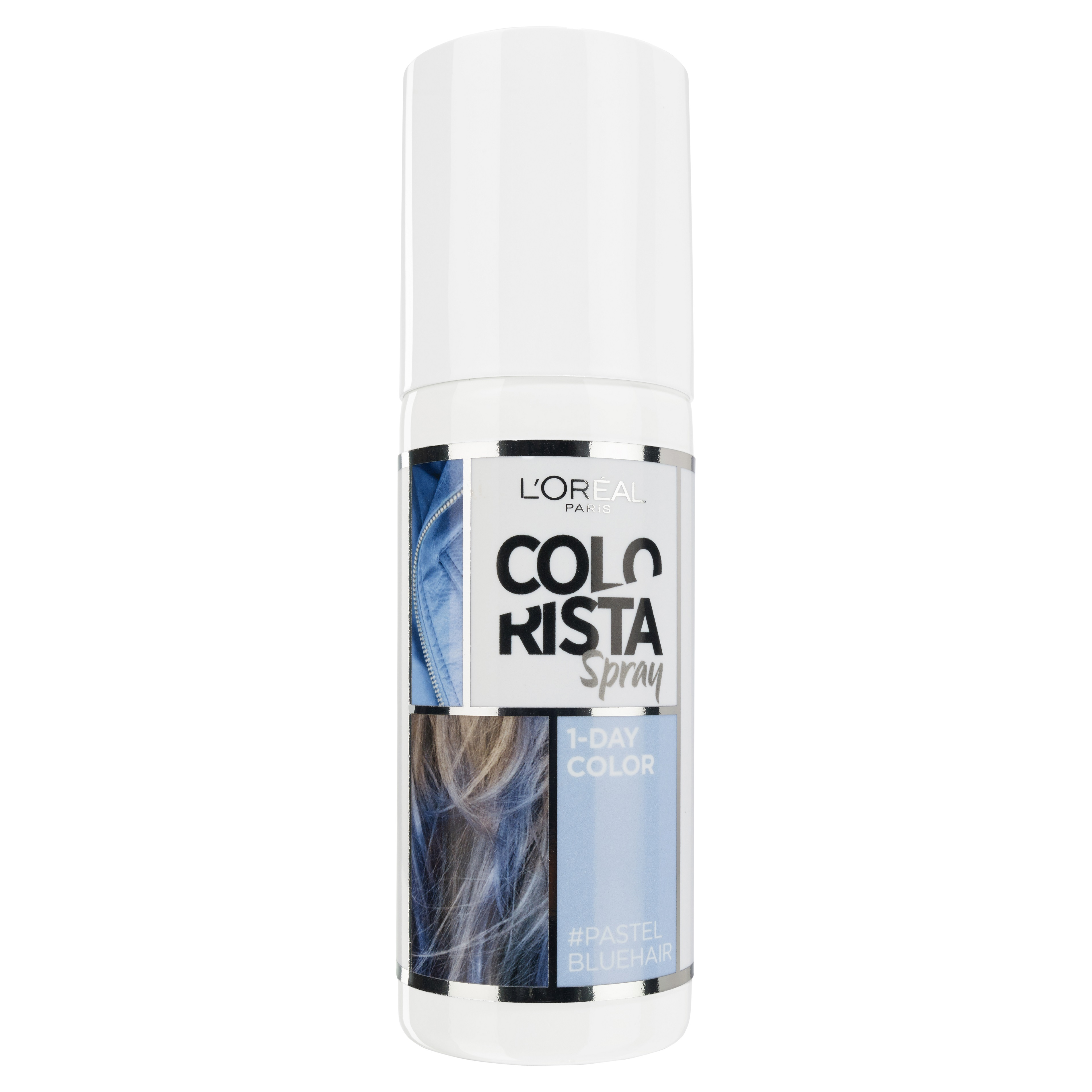 L'Oréal Paris Colorista 1 Day Spray, Pastel Blue RRP$15.99