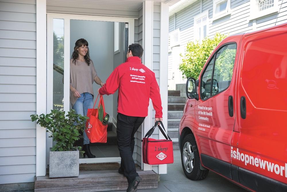 Delivery order arriving copy