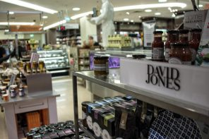 DAVID JONES ROLLS OUT FOOD STRATEGY