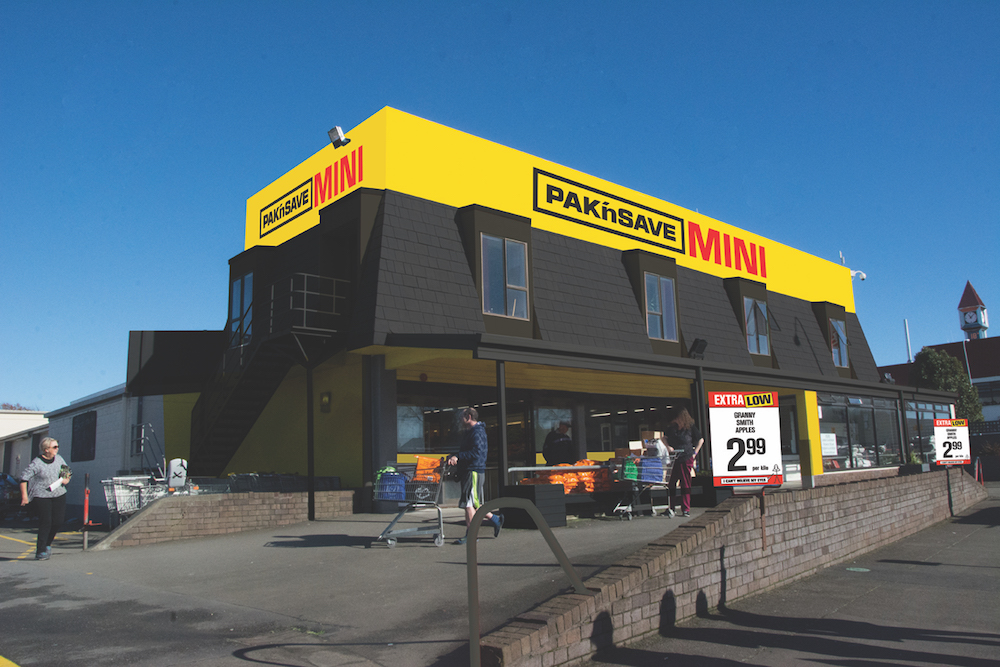 PAKn'SAVE Mini - Store Exterior 1