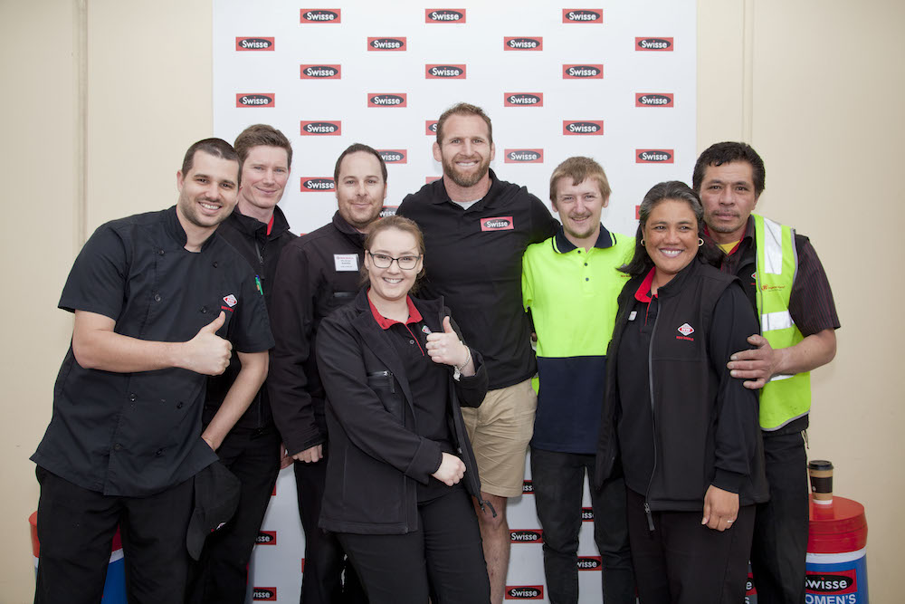 Foodstuffs staff and New World Mt Roskill Staff