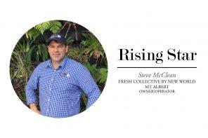 RISING STAR – STEVE MCCLEAN