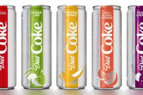 DIET COKE GETS MAKEOVER