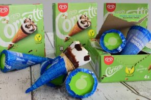 VEGAN CORNETTO LAUNCHES IN UK