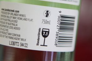 LABELS WON'T REDUCE ALCOHOL HARM