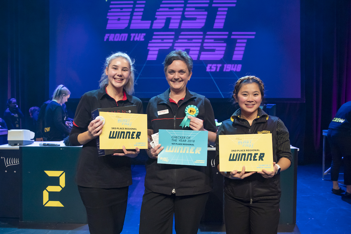 Auckland North winners- from Left, Isabella Burns, Debz Bott, Cathy Elloso