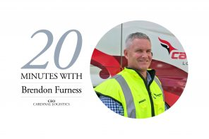 BRENDON FURNESS, CEO – CARDINAL LOGISTICS