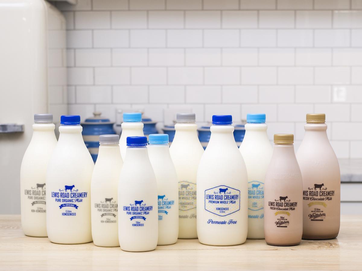 Lewis Road Creamery milk range moving to rPET