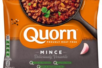 PACKET OF QUORN MINCE PRODUCT
