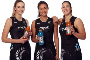 GATORADE AND H2GO PARTNER WITH SILVER FERNS