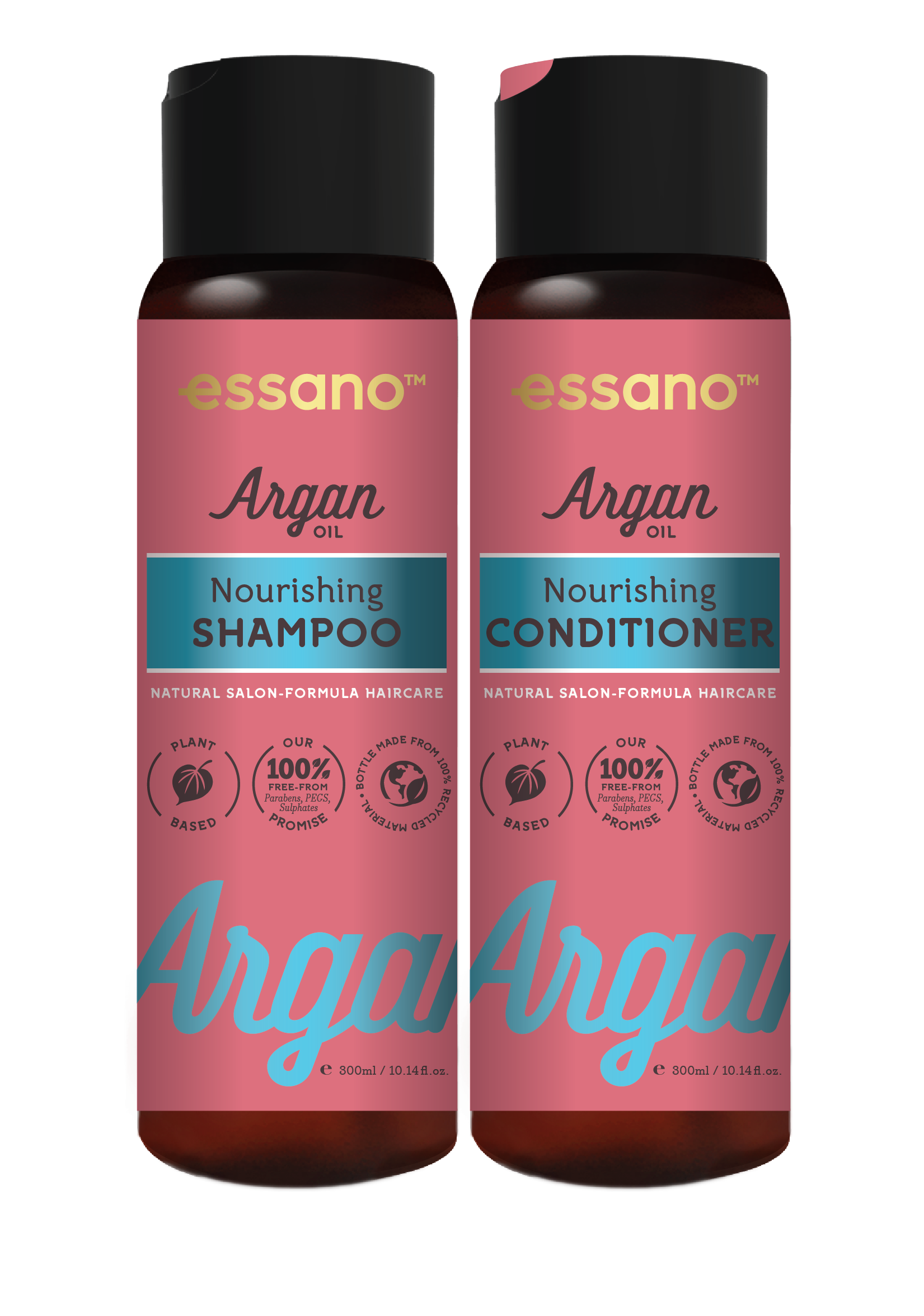 Essano Argan Oil of Morocco Nourishing Shampoo and Conditioner duo