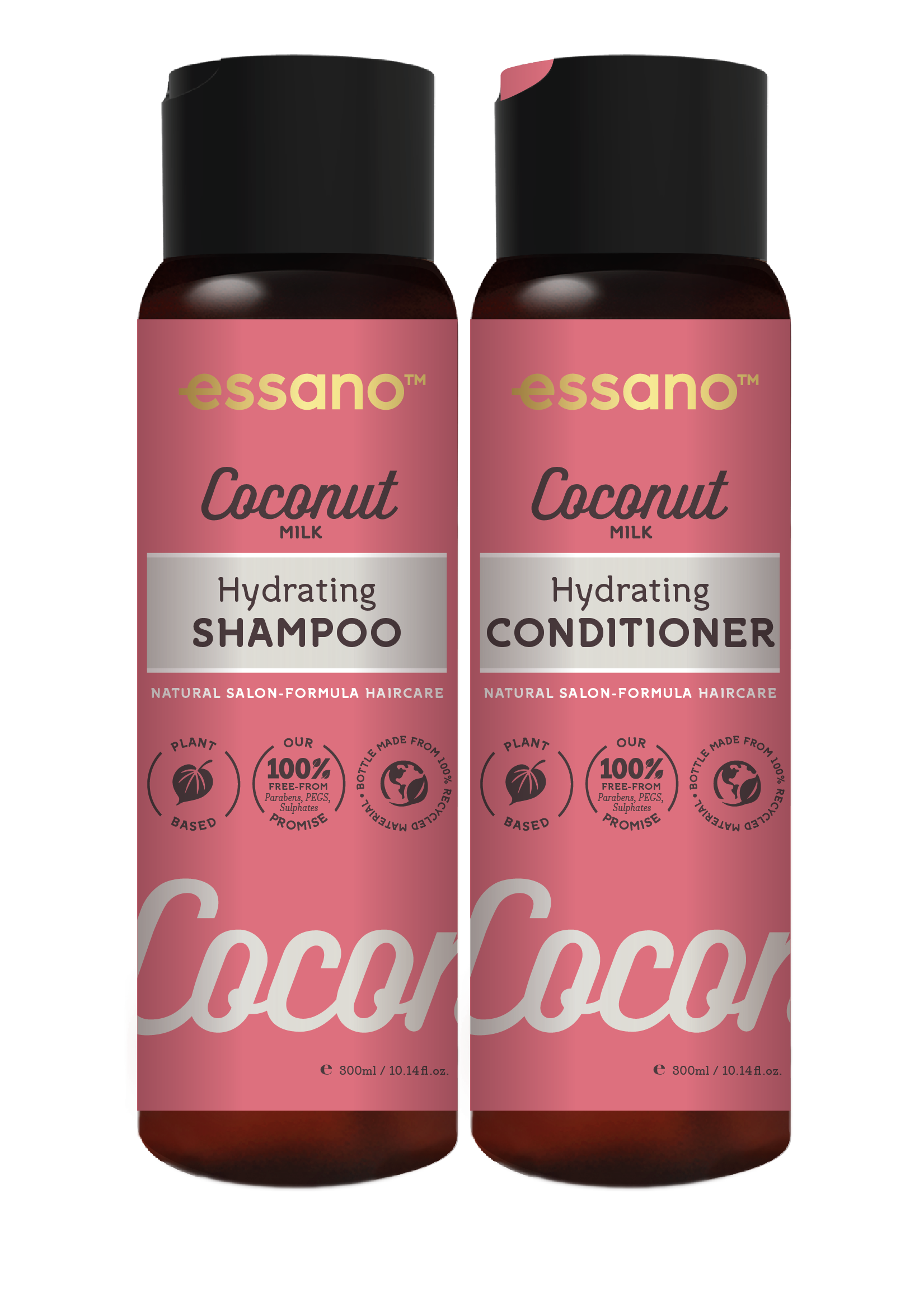 Essano Coconut Hydrating Shampoo and Conditioner duo
