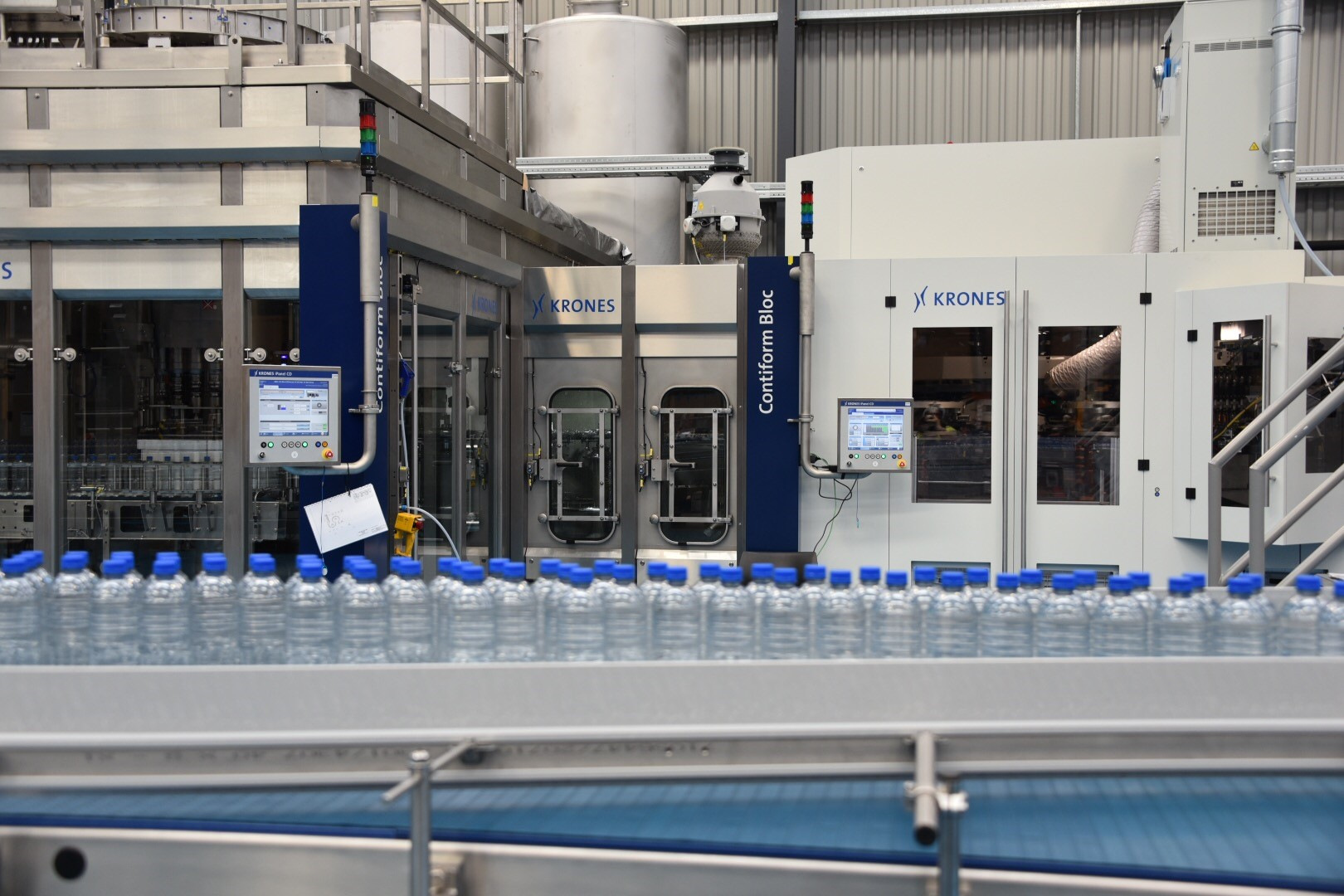 Nz Largest Bottled Water Production Line Opens