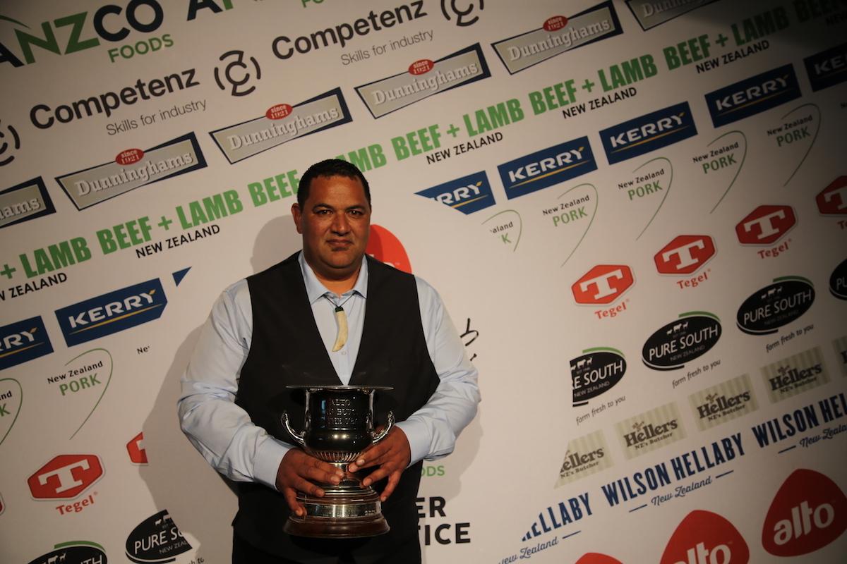 Riki Kerekere wins Alto Butcher of the Year