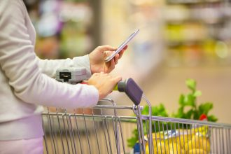 GROCERY APPS ON THE RISE