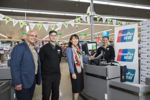 COUNTDOWN PARTNERS WITH UNIONPAY