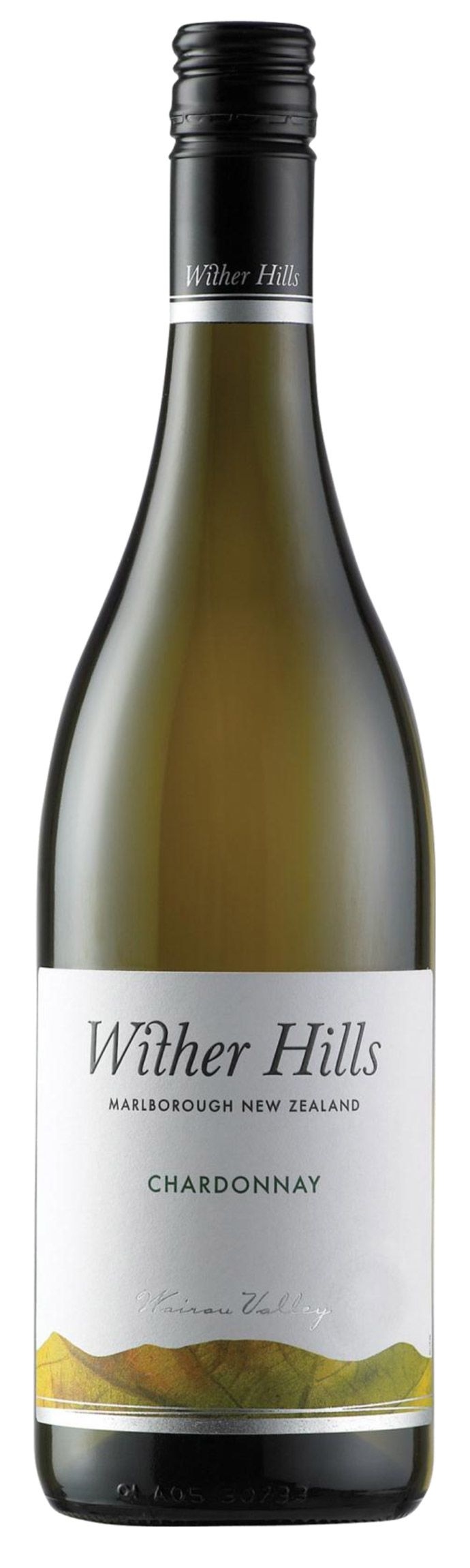 a bottle of wither hills chardonnay (year unspecified)