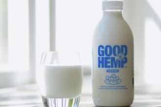 good hemp milk bottle