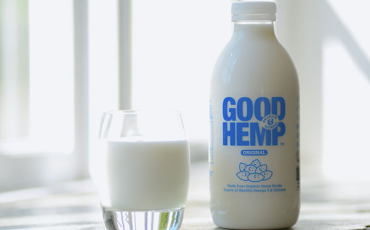 good hemp milk bottle