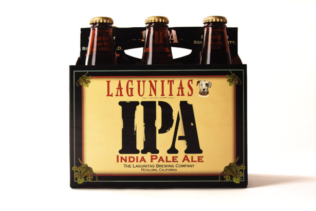6-pack of lagunitas ipa